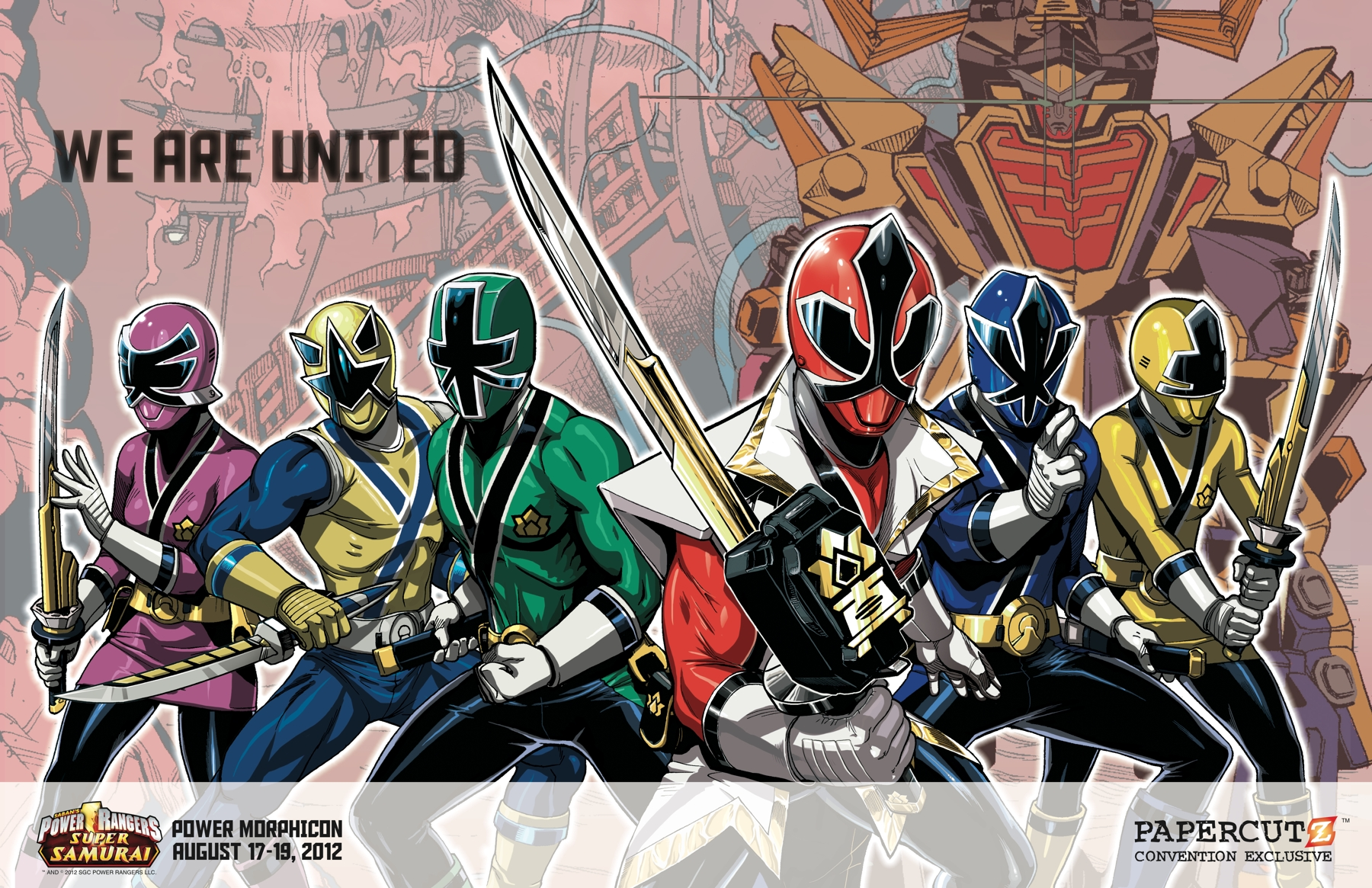 POWER/RANGERS UNAUTHORIZED NSFW