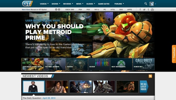 Metroid Front Page